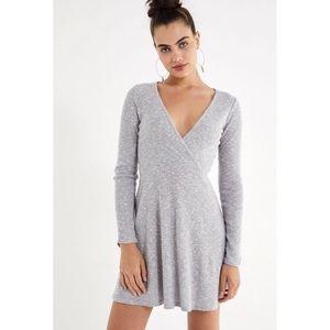 UO Coraline Cozy Wrap Dress S NEW